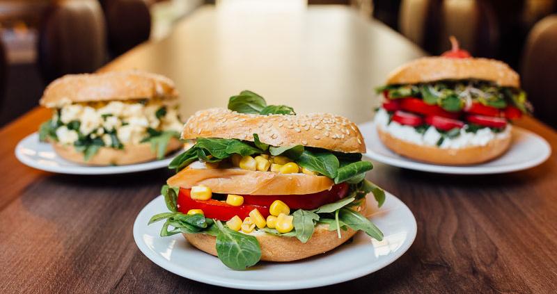 trzy kanapki